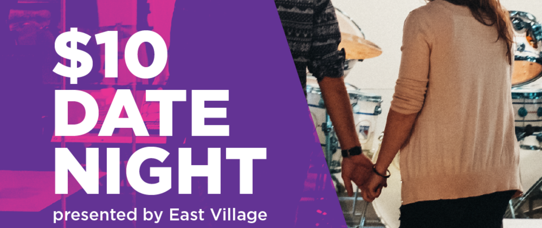 East Village presents: $10 Date Night at Studio Bell