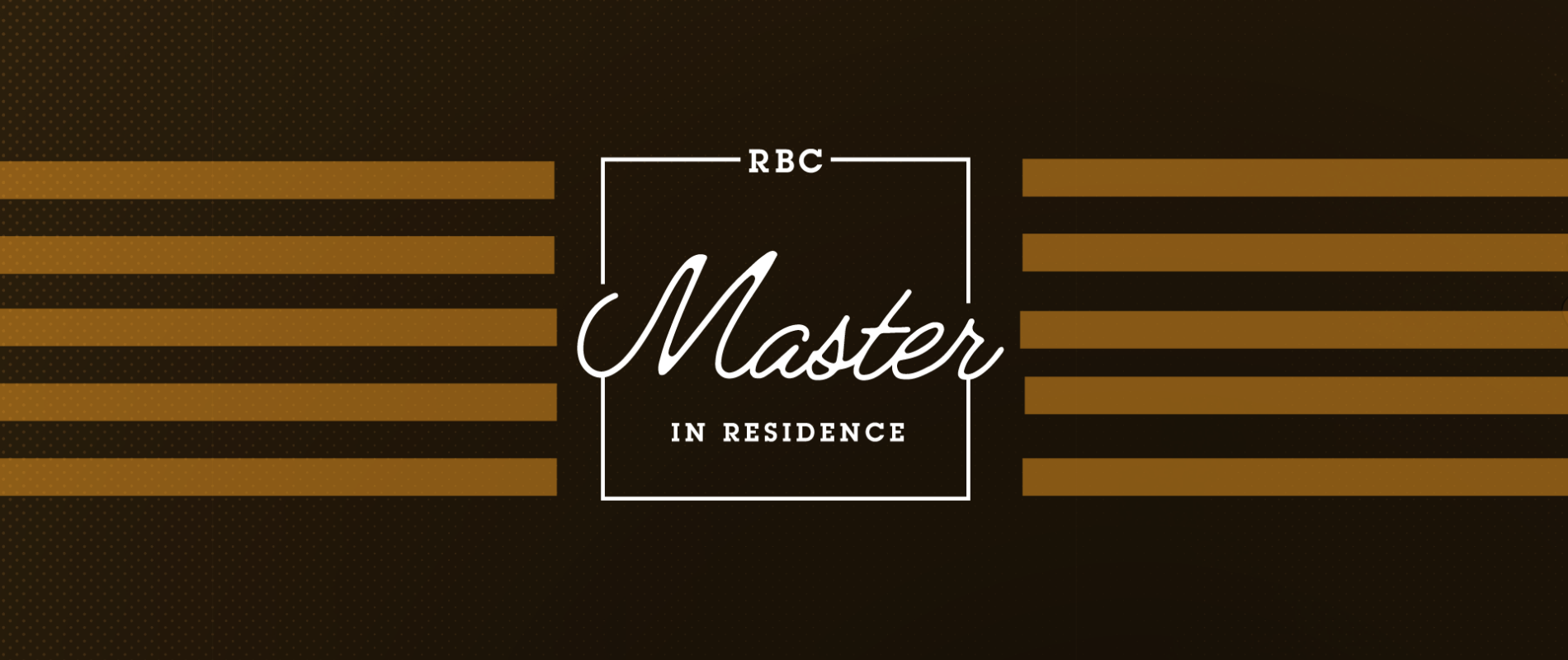 RBC Master in Residence